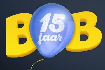 Bob is jarig