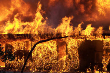 Vuur verwoest wijnbedrijven Californië