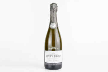 Alvi's Drift, Brut Nature, Methode Cap Classique, South Africa, 12.5% alc.