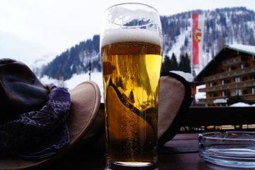 Geen wintersport, geen bier