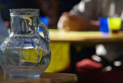 Water bij de wijn…